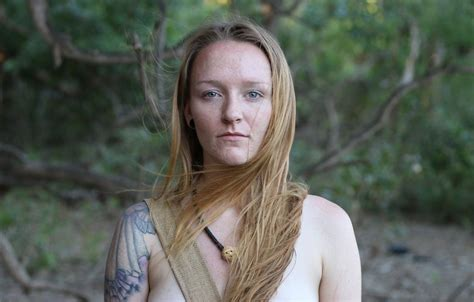 Teen Mom S Maci Bookout Tries To Survive Days On Naked And Afraid I Feel Really Confident