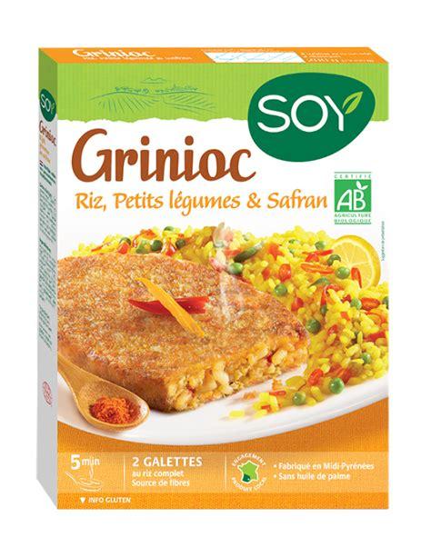 comment cuisiner le soja grinioc riz petits légumes safran soy