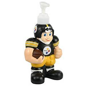 amazon com nfl 7 25 quot soap dispenser nfl team pittsburgh