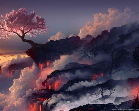 volcano wallpapers  desktop backgrounds wallpapers