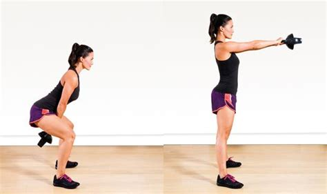 Kettlebell Swing With Dumbbell by Why Is The Kettlebell Workout So Amazing 8