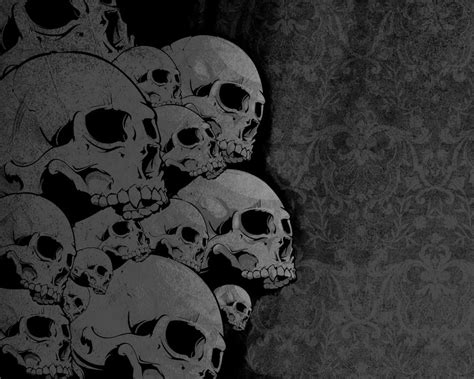 Skulls Wallpapers Kriudesign Deviantart