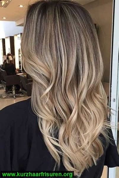 mittellange haare blond