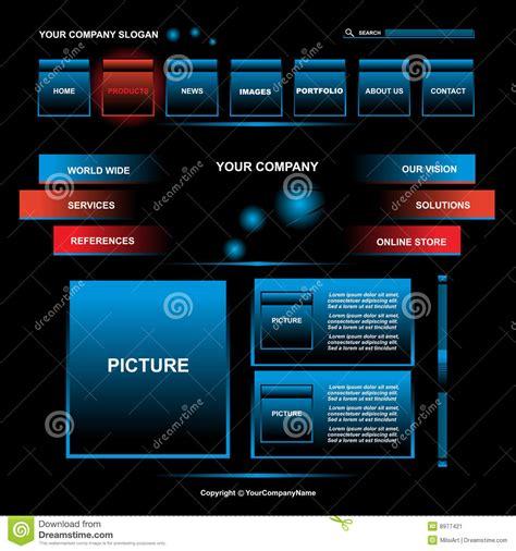 web page design stock image image
