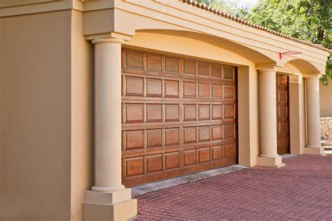 wood garage doors an extensive guide to new garage doors my decorative