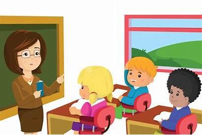 Teacher Clipart Student Class Teaching Teach Classe