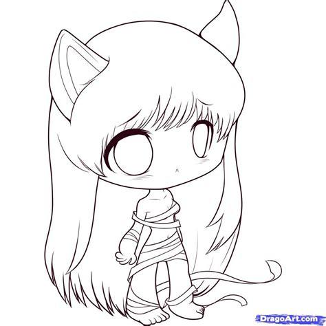 draw anime chibi drawing cute animals litle pups