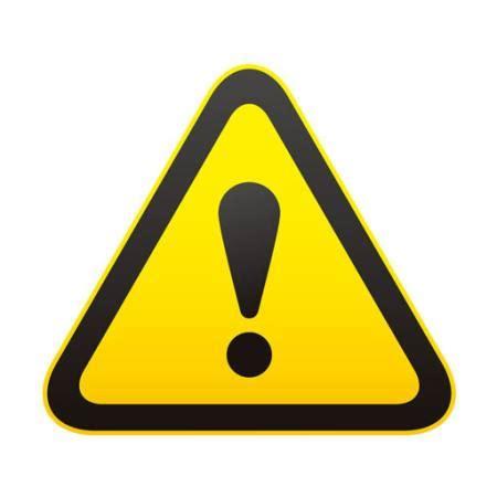 pixwords das bild mit zeichen ausrufezeichen marke gelb