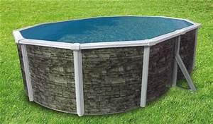 Pool Rechteckig Stahl : pool oval becken 4 9x3 7x1 2m steindekor stahlwand schwimmbecken schwimmbad ebay ~ Markanthonyermac.com Haus und Dekorationen