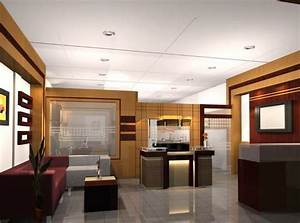 modern executive office interior design - mix of mostly ...