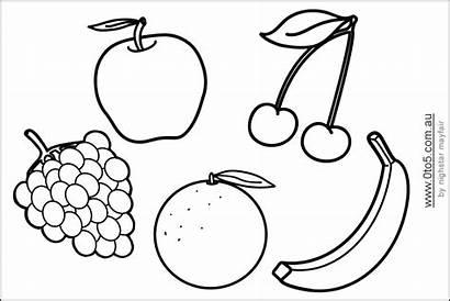 Fruit Printable Template Fruits Patterns Shape Templates