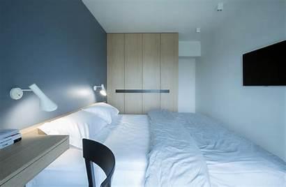 Bedroom Minimalist Shaped Double Brick Floor Plans