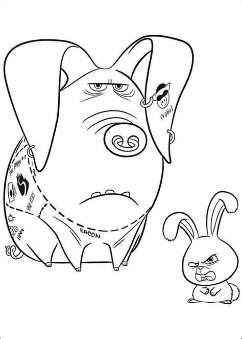 disegni da colorare pets 2 pets vita da animali da colorare e stare 22