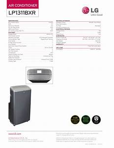 Pdf Manual For Lg Air Conditioner Lp1311bxr