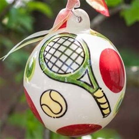 19 best tennis holiday ornaments images on pinterest