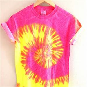 Tropical Neon Tie Dye Uni Tee from Era of Artists