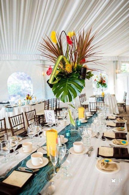 inspiration mariage tropical la decoration deco