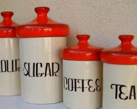 fashioned kitchen canisters vintage kitchen ceramic flour sugar coffee tea