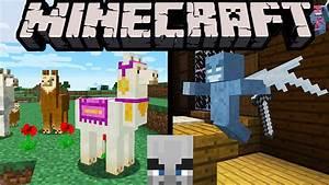 Minecraft 111 Exploration Update Llamas Spit Evil