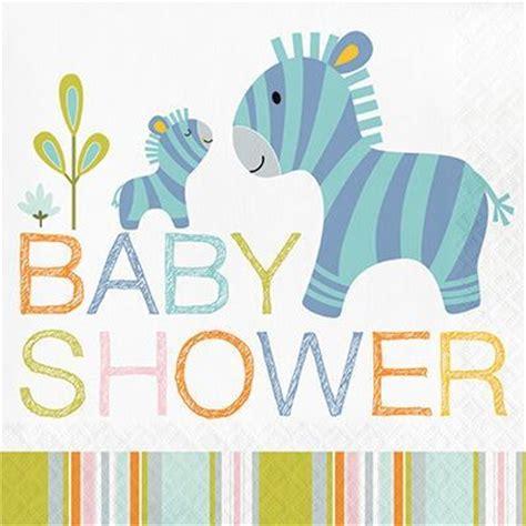 Happi Jungle Baby Shower Napkins (16