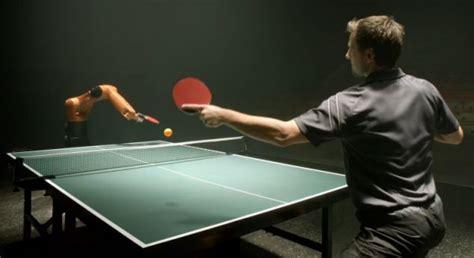 man  machine table tennis showdown    kuka