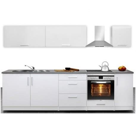 cuisine compl 232 te 2m80 laqu 233 e design moderne