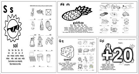 24 actividades para completar palabras educaci 237 n preescolar alumno on