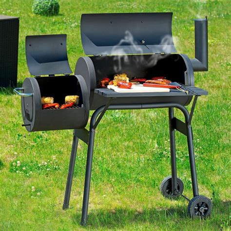 bbq smoker grill luxus barbecue lok fuer grillprofis