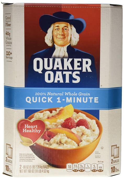 Amazon.com: Quaker Old Fashioned Oatmeal, 10 Pound