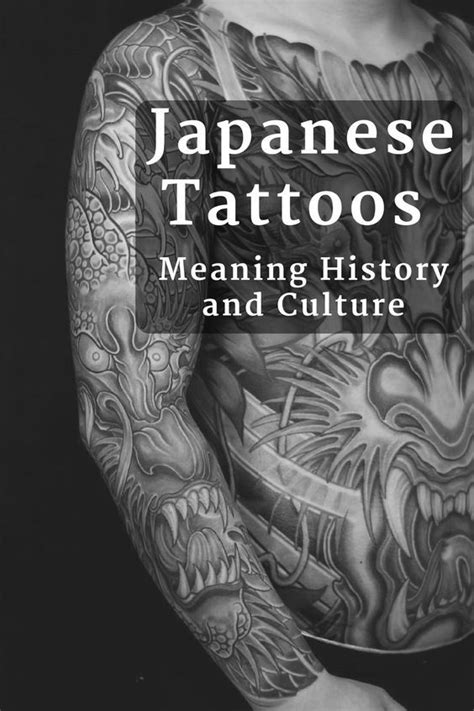 Japanese Tattoos Meaning History and Culture | Japanese