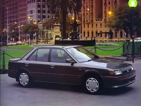 MAZDA 323 (BG) Sedan - 1989, 1990, 1991 - autoevolution