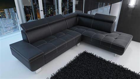 couture canapé cuir salon moderne cuir