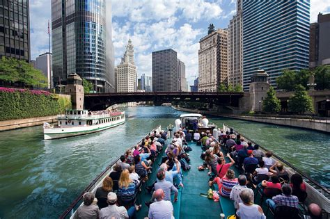Riverwalk Boat Ride Prices by Chicago Architecture Foundation Center River Cruise Aboard