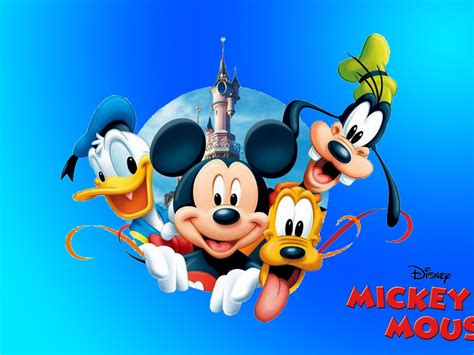 mickey mouse donald duck pluto  goofy  hd desktop