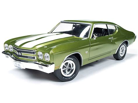 Chevelle Ss Models by 1970 Chevy Chevelle Ss 1 18 Citrus Green Diecast Model Car