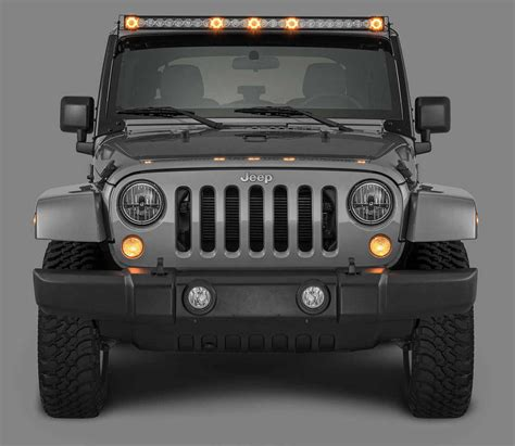jeep jk light quadratec j5 light bar with fasttrack mounting system 3