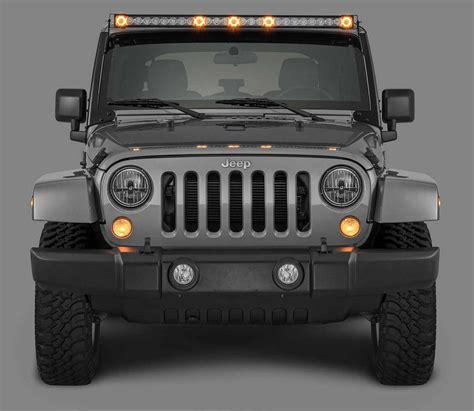 jeep wrangler led lights quadratec j5 light bar with fasttrack mounting system 3