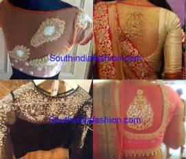 saree blouse designs pics for gt blouse designs for net sarees