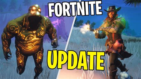 ny stor halloween update  vapen fortnite