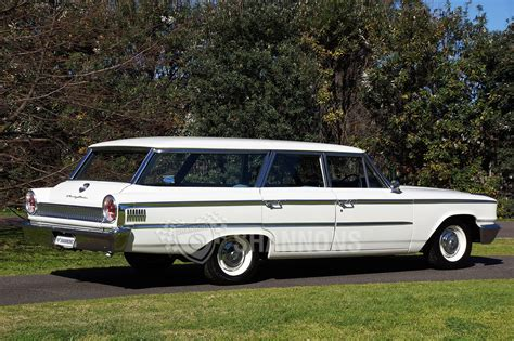 sold ford galaxie country sedan wagon rhd auctions