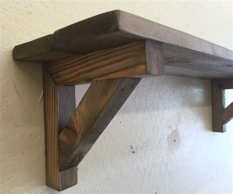 wooden shelf brackets primitive wall shelf decorative wooden shelf with matching