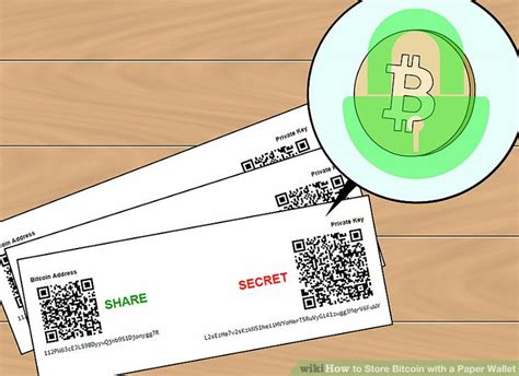 How To Store Bitcoin With A Paper Wallet (with Pictures