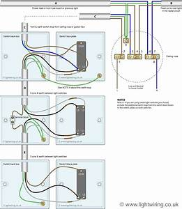 Three Way Light Switching Wiring Diagram  New Cable