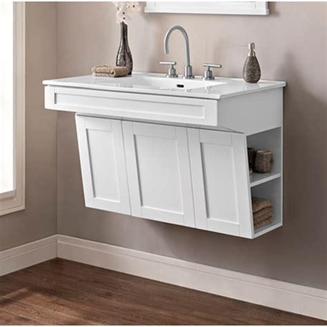 fairmont designs shaker americana  wall mount vanity
