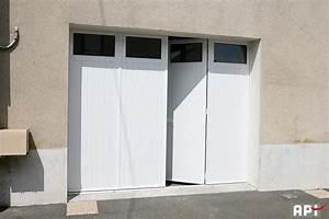 Porte De Garage 4 Vantaux : sib gamme 3 et 4 vantaux api 44 portail motorisation ~ Dallasstarsshop.com Idées de Décoration