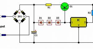12 Volt Car Battery Charger Circuit Schematic