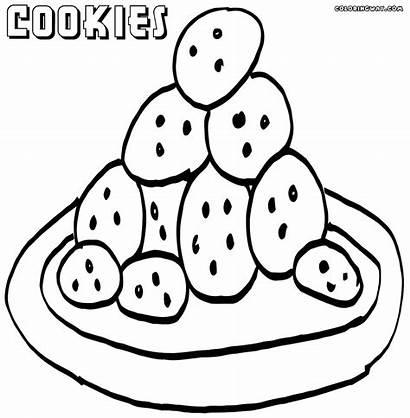 Cookies Coloring Plate