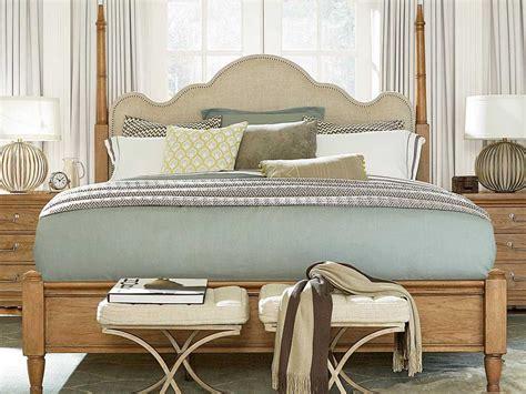 universal furniture moderne muse bisque poster bed bedroom set ufbset