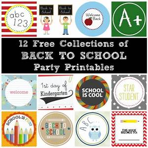 Blog Posts in the Category Printables (Free Back To School