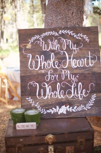 15 Pallet Sign Ideas For Your Wedding Rustic Wedding